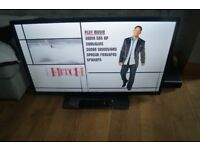 "40"" BUSH LED TV FULL HD SMART TV NETFLIX ,YOUTUBE ETC,BBC iPLAYER,REMOTE HDMI FREEVIEW"