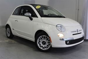2015 Fiat 500C Lounge*CONVERTIBLE*CUIR