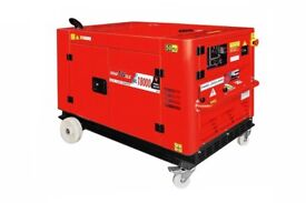 Generator KRAFTWELE SDG18000 SILENT DIESEL 2CYLINDER 18Kva
