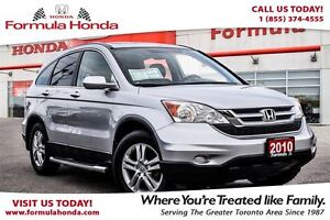 2010 Honda CR-V EX-Certified vehicle and boasts a clean carproof