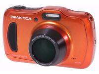 PRAKTICA Luxmedia WP240 20MP 4x Optical Zoom Waterproof Digital Camera - RRP £169.99