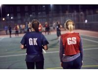 Back to Netball Session