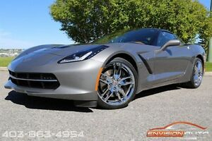 2015 Chevrolet Corvette STINGRAY Z51 3LT AUTO - GLASS ROOF