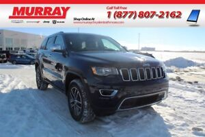 2017 Jeep Grand Cherokee LIMITED *4x4, Remote Start, Leather Hea