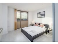 A stunning apartment comprises of an open plan reception room with modern kitchen