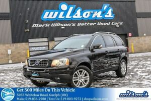 2012 Volvo XC90 7-PASS AWD  LEATHER! SUNROOF! MEMORY SEAT! HEATE
