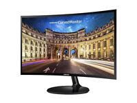 Samsung C24F390 24-Inch Curved LED Monitor - Black Gloss