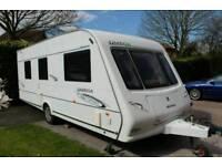 Compass Omega 550 4 08 Berth Touring Caravan