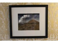 Brand new Original Photo Volcano, Java traveling in Asia in a frame