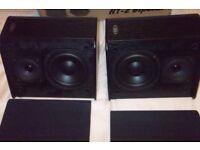ELTAX HT-2 BIPOLAR REAR SURROUND sound SPEAKERS
