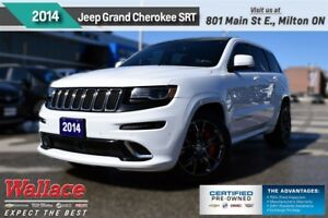 2014 Jeep Grand Cherokee SRT/470hp V8/LOADED!/4WD/SUNRF/HTD&CLD