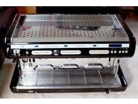 Brasilia Opus Sublima 3 Group Commercial Espresso Coffee Machine with Hyperwand!