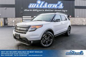 2015 Ford Explorer SPORT 4WD! 7-PASS! LEATHER! NAV! DUAL SUNROOF