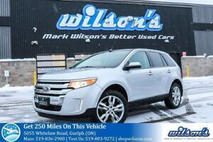 2014 Ford Edge SEL AWD LEATHER! NAVIGATION! PANORAMIC SUNROOF! R