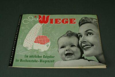 Die Wiege - Ein Nützlicher Counselor + Wiegezeit - Original No. 1 From 1959/S17