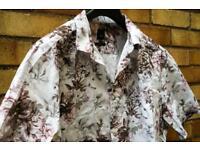 River island - floral shirt XXL