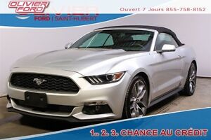 2015 Ford Mustang EcoBoost Premium CONVERTIBLE AUTO CUIR NAV MAG