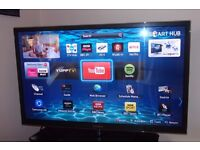 Samsung 51 inch Smart plasma TV PS51 E6500 , Freeview and Freesat and remote