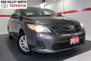 2013 Toyota Corolla CE MANUAL ENHANCED CONVENIENCE PKG Heated Se