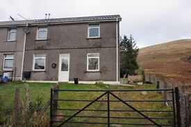 AVAILABLE NOW Three bed end terrace house in quiet cul de sac with countryside views