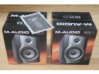 Pair of M-Audio BX5 Carbon speakers