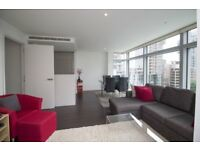 **AVAILABLE NOW** 2 bed apartment in Pan Peninsula building, Heart of Canary Wharf E14, CALL NOW