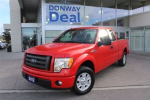 2012 Ford F-150 -STX|SUPERCAB|6.5 FT BED|TAILGATE STEP|LOW KM!!