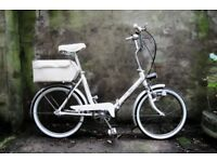 ELITE. vintage shopper folding bike, 3 speed