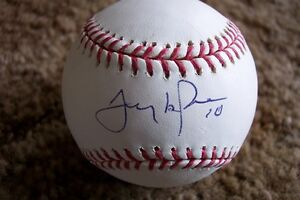 Tony LaRussa Autographed Baseball JSA Authenticated