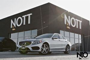 2015 Mercedes-Benz C-Class C400, AMG Sport pk, Nav, LOADED, LOW