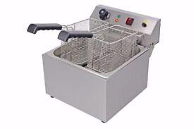 Chips Fryer Single Tank Double Basket EN112 (nov)