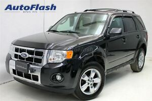 2011 Ford Escape Limited 3.0L AWD * V6 * Cuir & Toit * Leather &