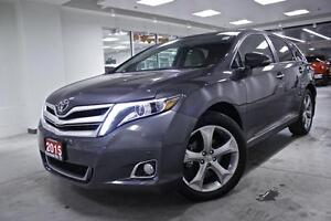 2015 Toyota Venza LIMITED, NAV, ROOF, PWR ALL, ONE OWNER, NO ACC
