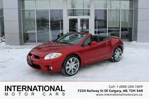 2008 Mitsubishi Eclipse GTP V6 SPYDER! VERY LOW KMS!
