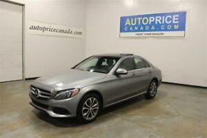2015 Mercedes-Benz C-Class C300|PANORAMIC ROOF|NAVAIGATION