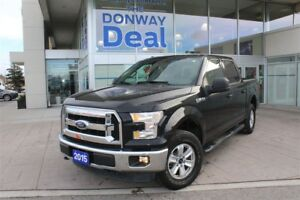 2015 Ford F-150 XLT 5.0L V8|4X4|SUPERCREW|TOW PACAKGE|BEDLINED