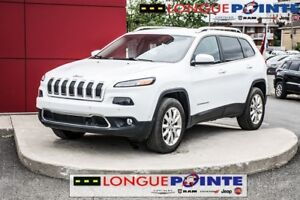 2014 Jeep Cherokee Limited 4x4 - DÉMARREUR A DISTANCE
