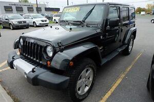 2012 Jeep WRANGLER UNLIMITED Sahara - Groupe Remorquage