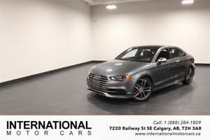 2015 Audi S3 TECHNIK! NAVI! LOADED!