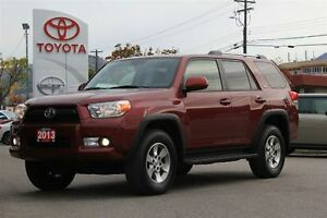 2013 Toyota 4Runner SR5 UPGRADE 4.0L V6 4x4 Heated Leather/Navig