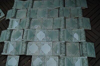 Antike Ofenkacheln Ofenfliesen Kachelofen Jugendstil Kacheln