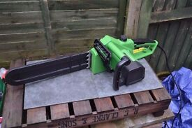 Bentley electric chainsaw used once