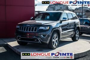 2014 Jeep Grand Cherokee Overland, CUIR chauffant, TOIT OUVRANT,