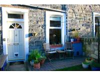 Beautiful holiday/ short term let with garden and free parking, good transport links, sleeps up to 5