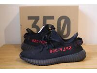 Yeezy 350 v2 Black Red ~ Open For Offers!