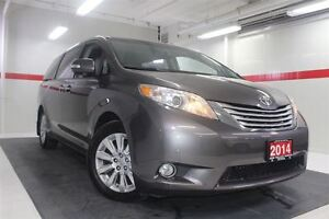 2014 Toyota Sienna Limited DVD Heated Lthr Nav Sunroof Btooth BU