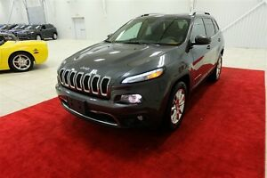 2015 Jeep Cherokee 4WD 4dr Limited, CUIR, NAVIGATION, MAGS,