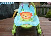 fisher price 3 in 1 infant seat, toddler seat baby rocker