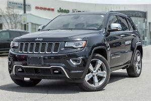 2014 Jeep Grand Cherokee Overland, PANO ROOF, COLLISION WARNING