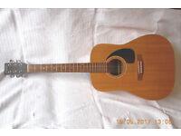 Simon and Patrick SP6 Acoustic Guitar, Pickup, Strings